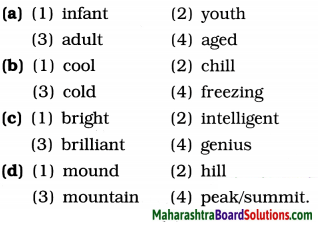 Maharashtra Board Class 9 English Kumarbharati Solutions Chapter 2.3 Somebody's Mother 3