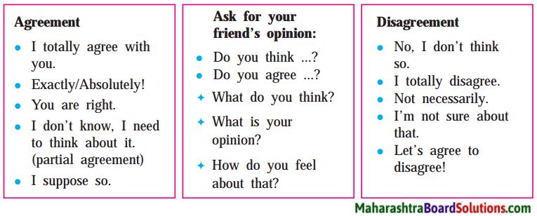 Maharashtra Board Class 9 English Solutions Chapter 4.1 Please Listen 1
