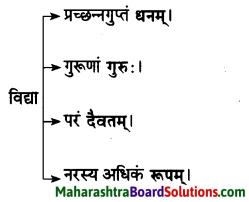 Maharashtra Board Class 10 Sanskrit Amod Solutions Chapter 3 सूक्तिसुधा 2