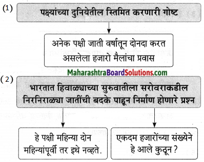 Maharashtra Board Class 9 Marathi Aksharbharati Solutions Chapter 11 आभाळातल्या पाऊलवाटा 9