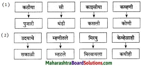Maharashtra Board Class 9 Marathi Kumarbharti Solutions Chapter 3 कीर्ती कठीयाचा दृष्टान्त 13