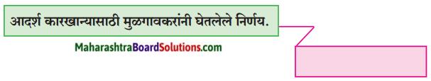 Maharashtra Board Class 9 Marathi Kumarbharti Solutions Chapter 14 आदर्शवादी मुळगावकर 11