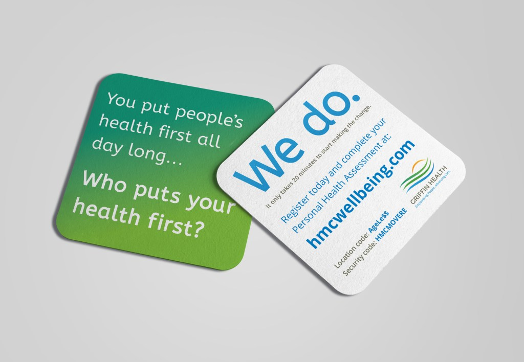 Employee Wellness Campaign Cards