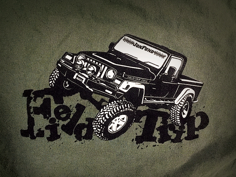 Jeep Club T-shirt Design