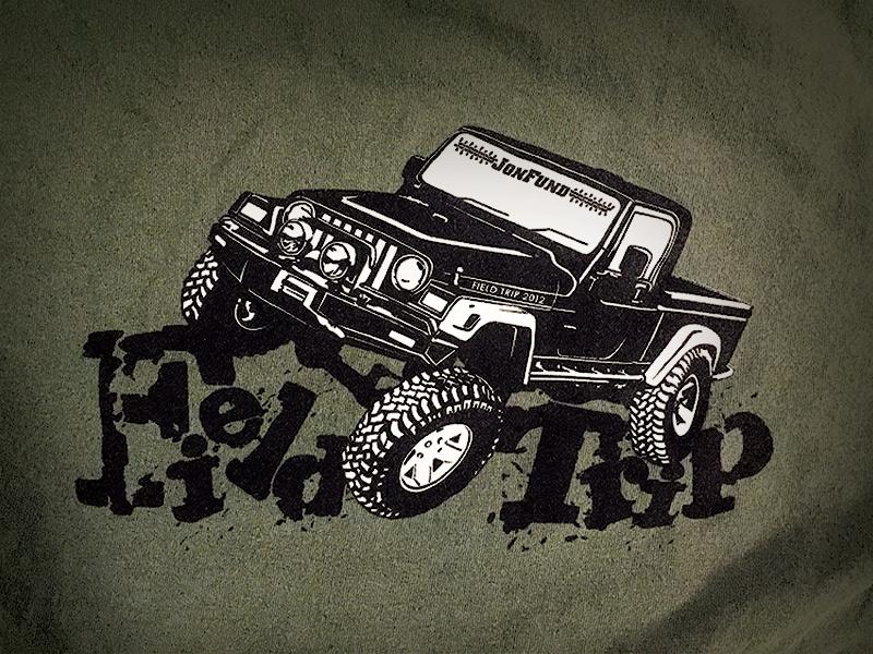 Jeep Club T-shirt Design