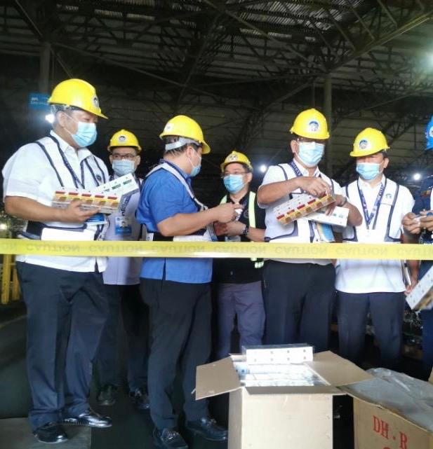 P75M imported tobacco products seized