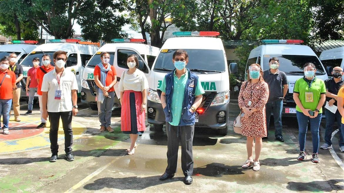 DOH-Calabarzon doles out ambulances, TV sets to hospitals and RHUs