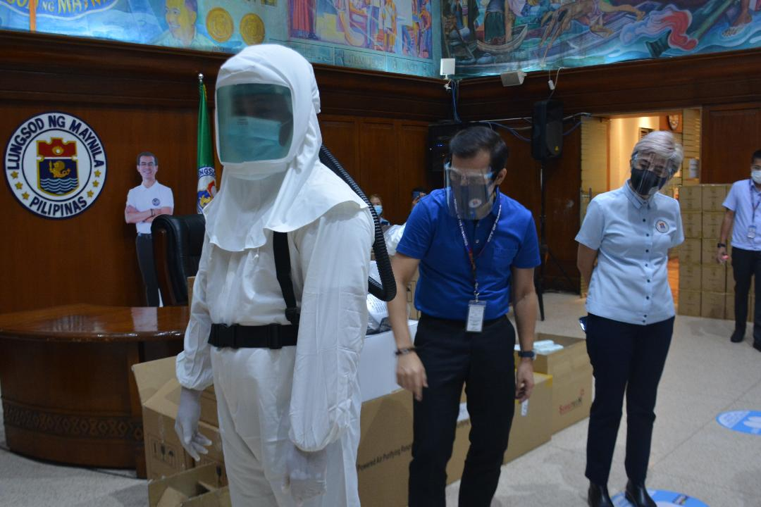 Manila acquires high tech PPEs for doctors, nurses in the battle vs Covid-19