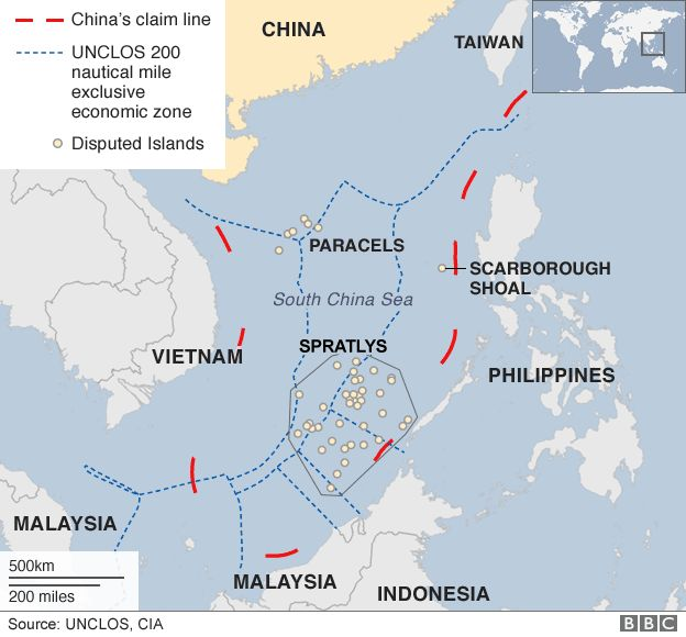 UK, France, Germany slam China's 'historical claims' in SCS