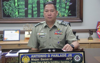 Alvarez not a real activist but full-blooded NPA: Parlade