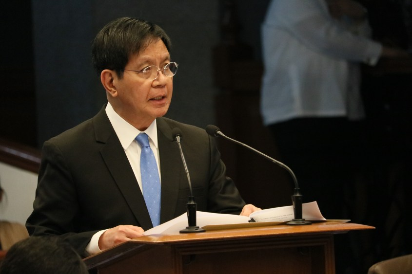 Senator Lacson hits DSWD P10-B 'savings'
