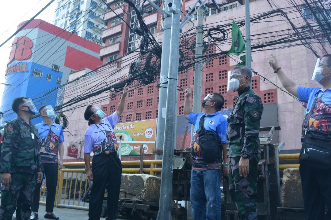 CCTV cameras, speakers installed in Divisoria