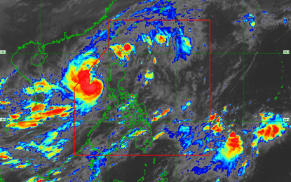 'Pepito' intensifies into a severe tropical storm