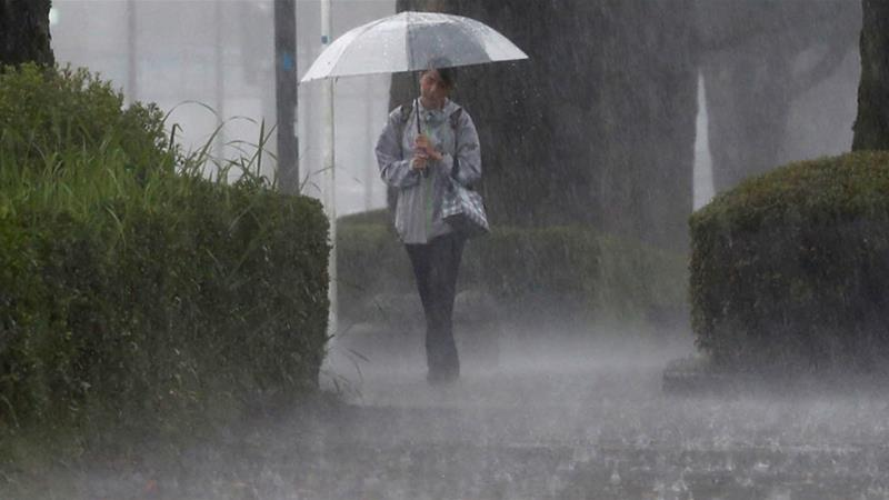 LPA, northeasterly surface wind flow bring rains, thunderstorms