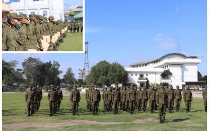 122 paramilitary troopers help secure Tacurong City