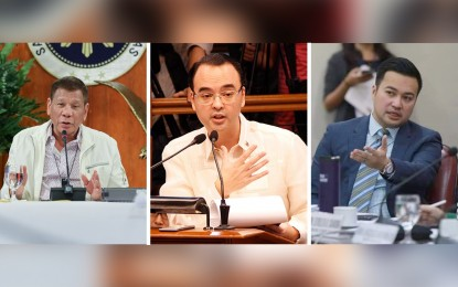 PRRD calls for meeting with Cayetano, Velasco