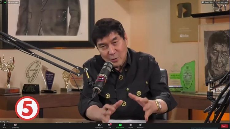 Having 15-M subscribers, Raffy Tulfo admits that the bulk of his YouTube earnings go to the needy
