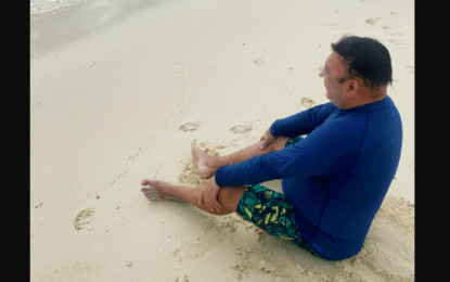 Roque spends time off in recently reopened Boracay
