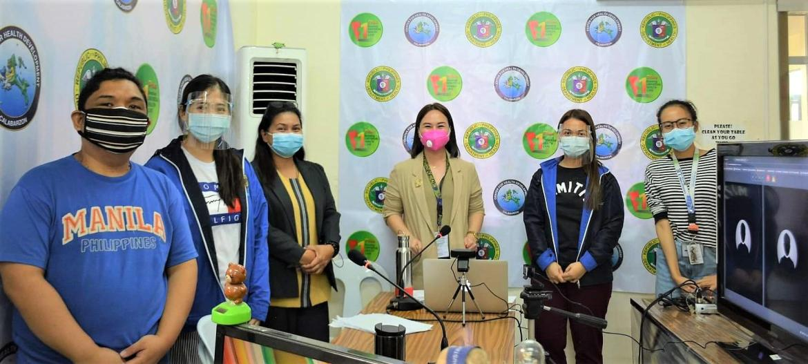 DOH-Calabarzon continues with its succesful e-learning sessions