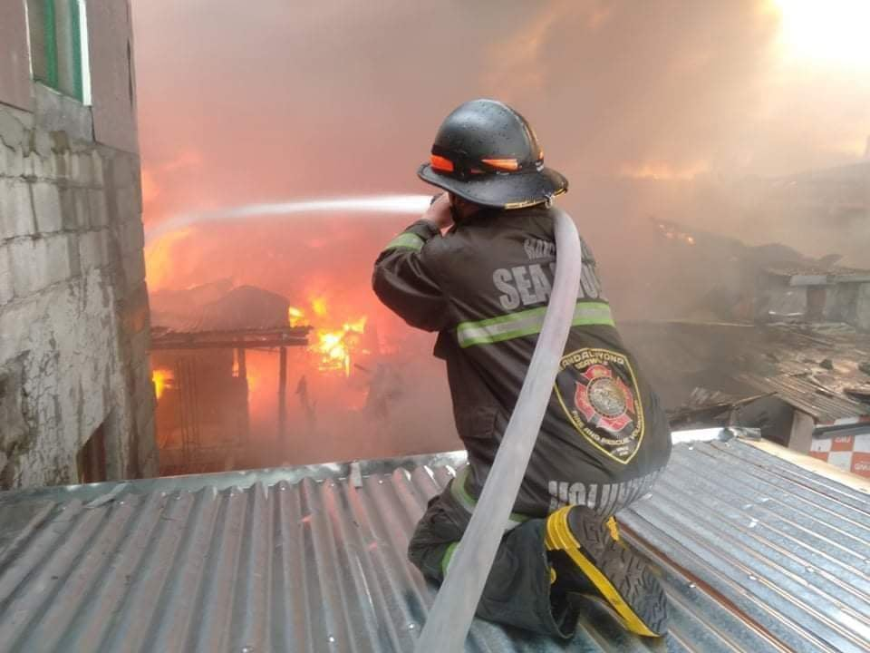 Bravery of OMA fire fighters hailed