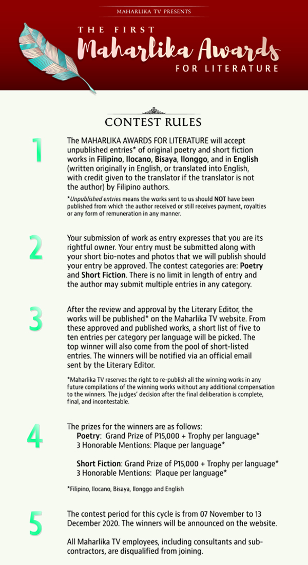 MTV Literature Contest Rules