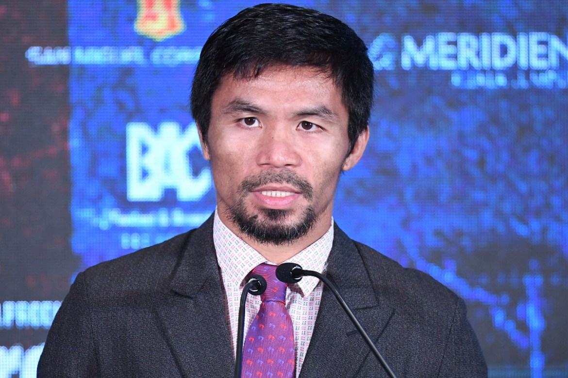 Pacquiao pushes for river dredging to ease floods