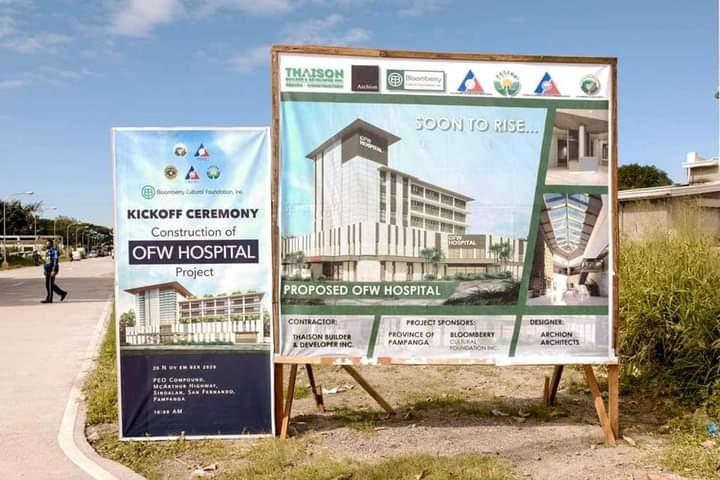Construction of PH's first-ever OFW hospital officially on