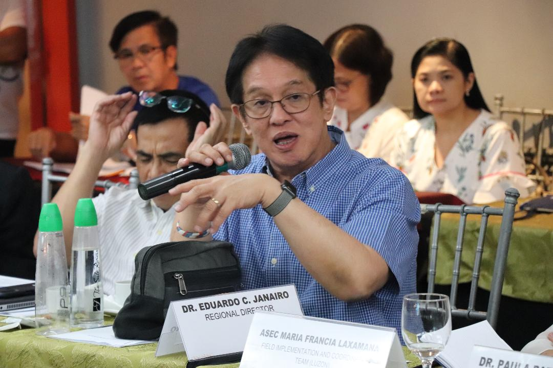 DOH-Calabarzon RD warns public on fraudulent solicitations using his name