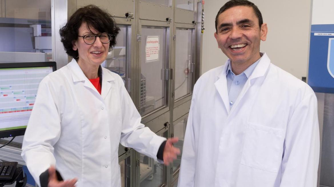 Meet the couple behind Pfizer's Covid-19 vaccine