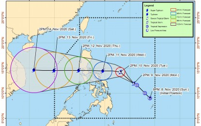 'Ulysses' to intensify into severe tropical storm