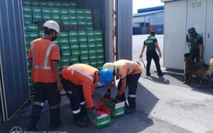 P9.3-M worth of misdeclared agri products seized