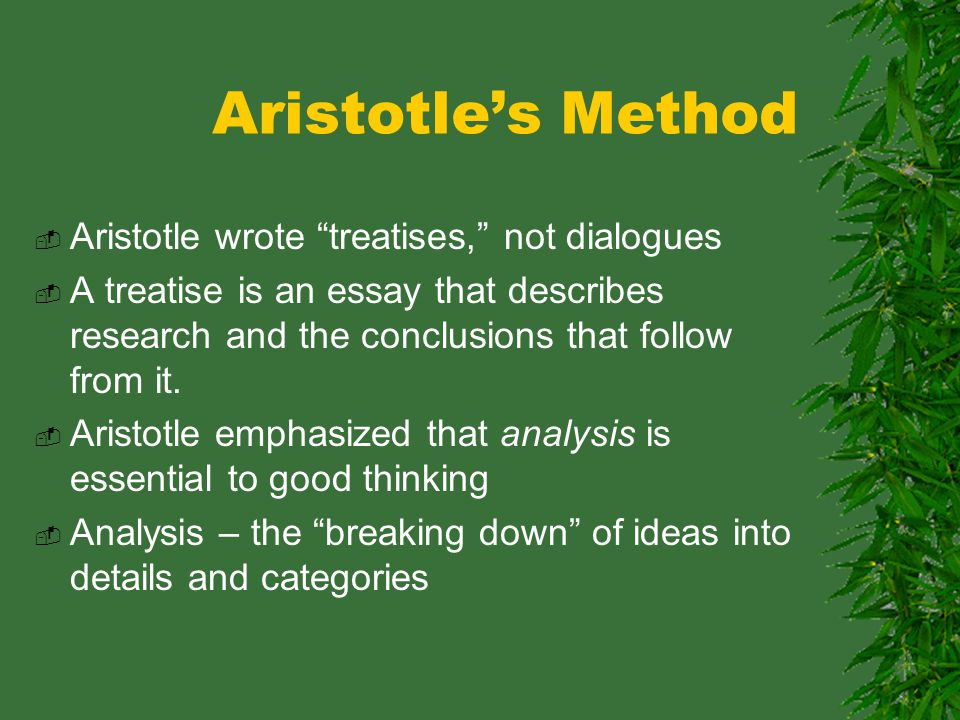 The new morality and the way of Aristotle