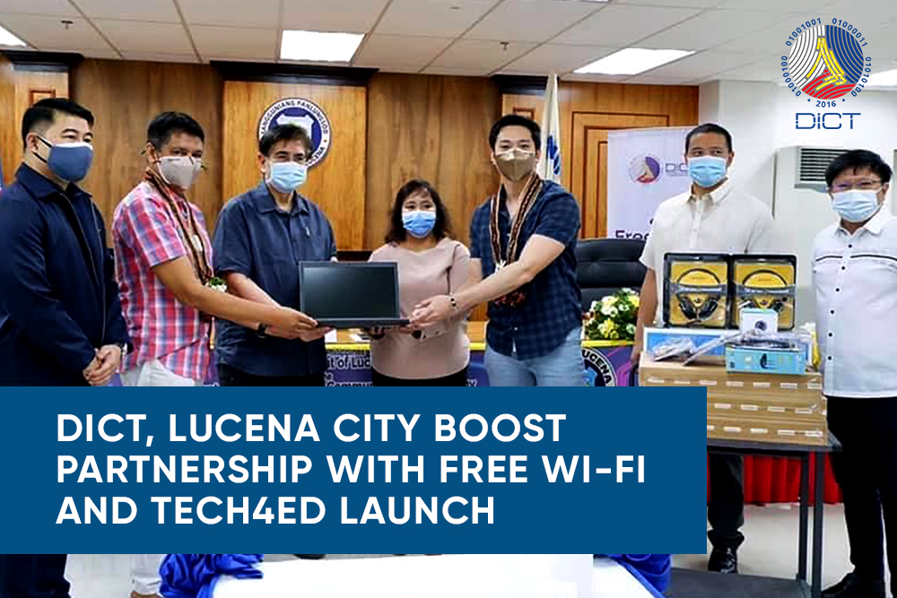Lucena City gets free Wi-Fi connectivity