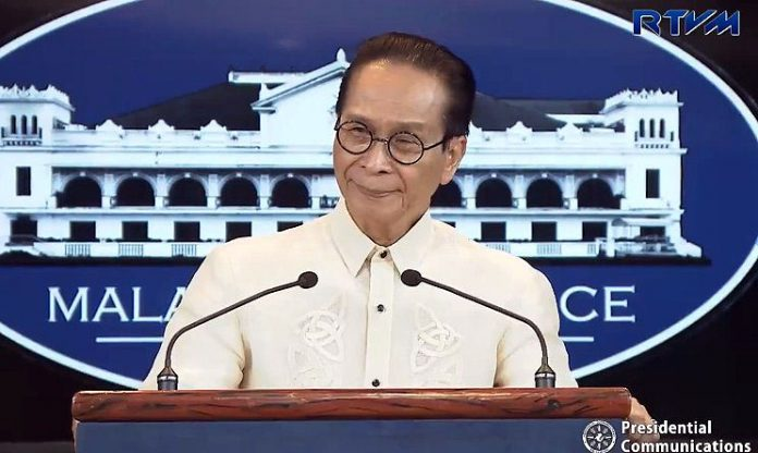 Panelo on the impeachment complaint vs Leonen: Let the rule of law and the constitutional processes on impeachment take its course