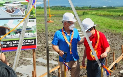 Construction of Bacolod museum-auditorium starts early next year