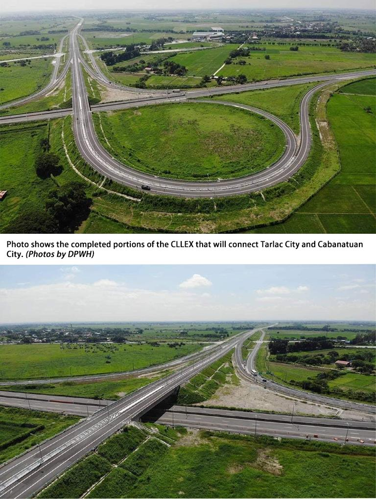 DPWH says CLLEX Phase 1 project now completed