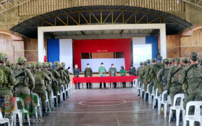 300 soldiers deployed for SK town community immersion