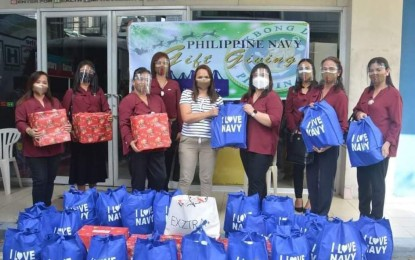 PH Navy brings joy to child patients