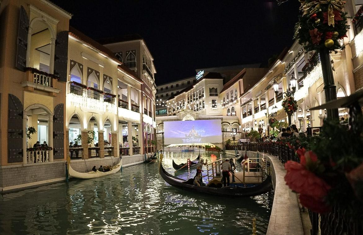 Venice Grand Canal Mall in McKinley Hill Taguig opens PH's 1st float-in cinema