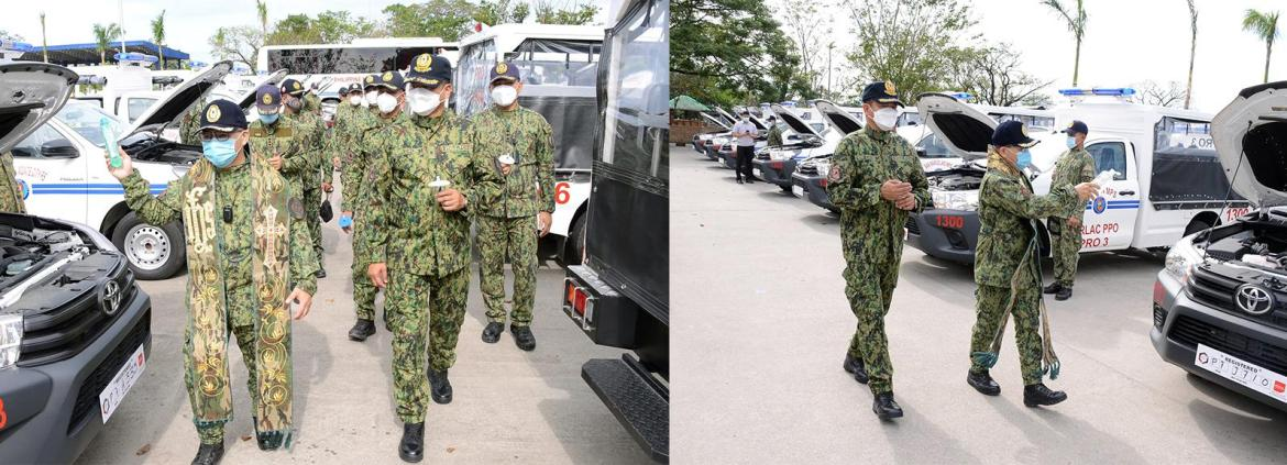 Region 3 PNP can respond better now with 36 brand new vehicles – RD De Leon