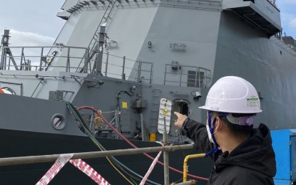 PH's 2nd missile-capable frigate now under final inspection