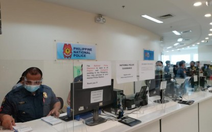PNP's one-stop shop in MOA part of 'new normal'