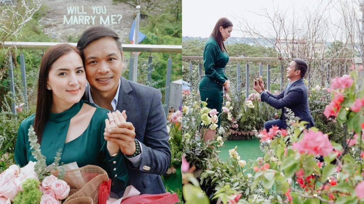 Ara Mina engaged na!