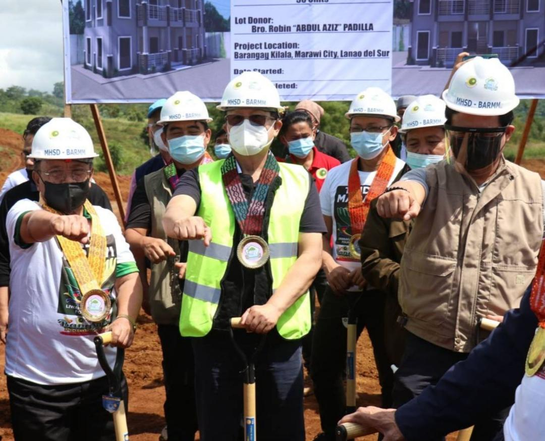 TFBM, BARMM join hands for Marawi housing project