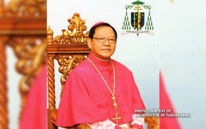 Baccay 'completely' installed as Tuguegarao archdiocese head
