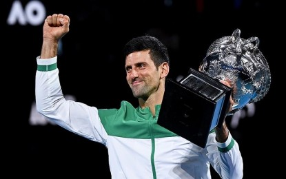Djokovic wins Australian Open, 9th crown in Melbourne