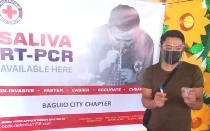 Red Cross rolls out Covid-19 saliva testing in Baguio