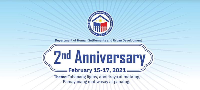 DHSUD: Simple but meaningful 2nd year anniv