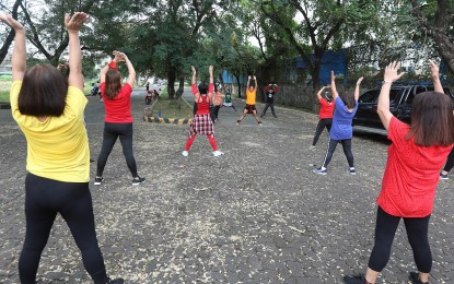 Outdoor exercises allowed within own home, barangay