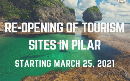 Pilar town in Siargao Island reopens tourist sites